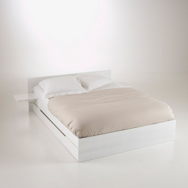 Top 25 ideas about lits on pinterest mattress ps and places - Lit avec sommier 160x200 ...