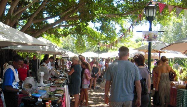 Blaauwklippen Vineyards Family Market, located in Somerset West, about 30 minutes from the heart of Cape Town