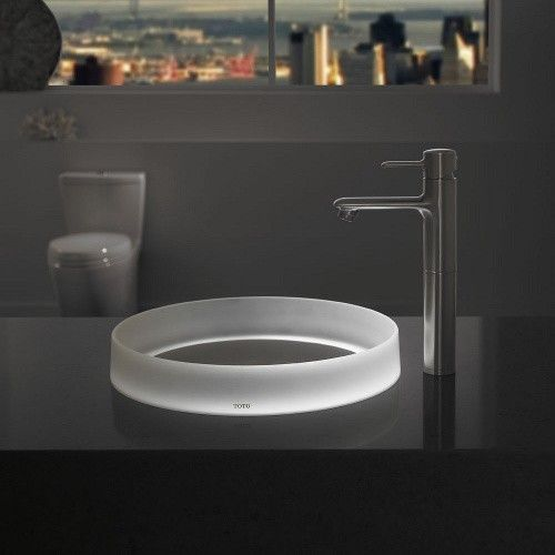 Luminist Lighted Round Vessel Sink from TOTO|YBath
