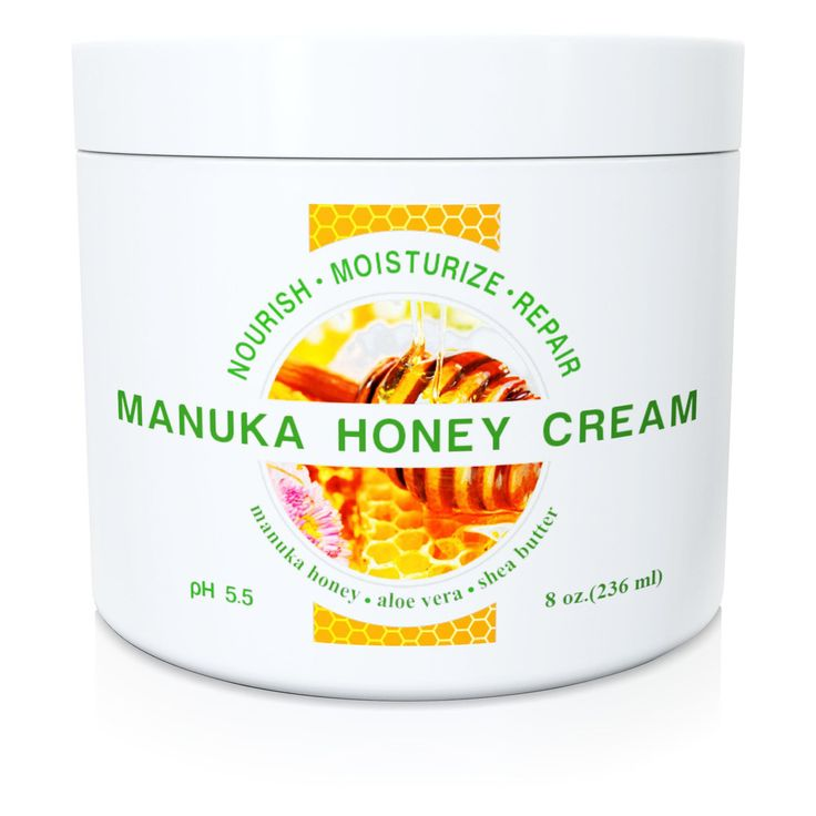 Wild Naturals Manuka Honey Cream 8oz- gentle and effective treatment for scars, eczema, psoriasis, etc