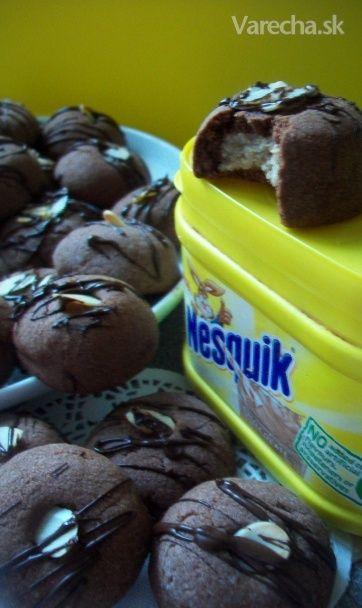 Nesquikové plnené bochníčky (fotorecept) - Recept