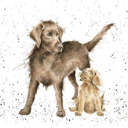MPOC030 - Puppy Love. Hannah Dale, Wrendale designs.