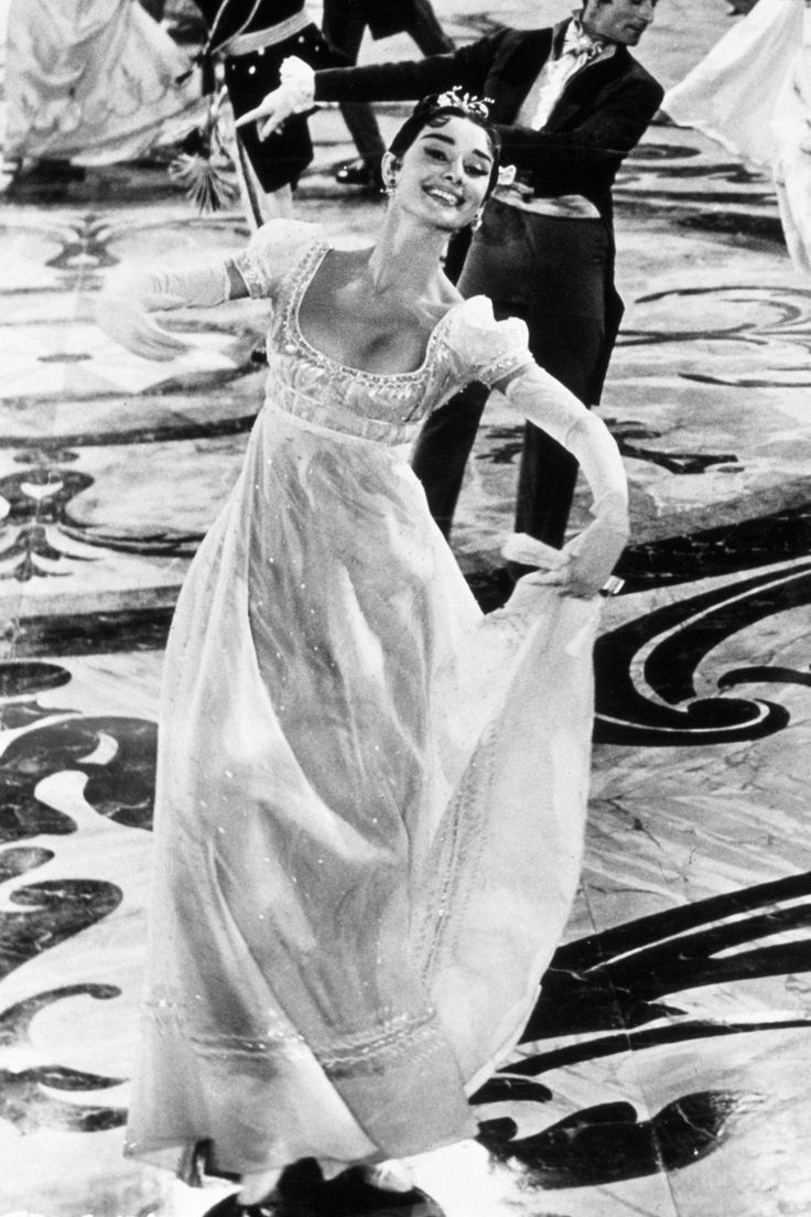 Audrey Hepburn, Natasha Rostova - War and Peace directed by King Vidor (1956)…