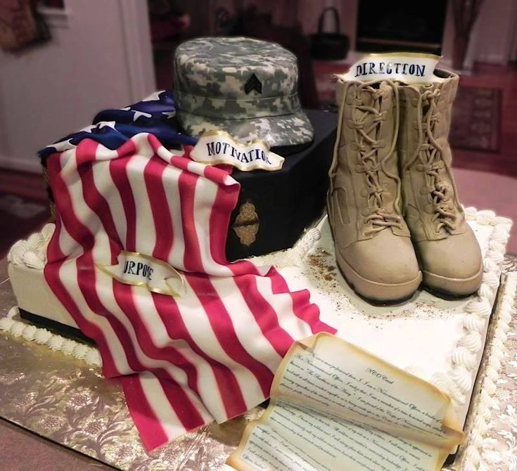 Military Spouse Creates Incredible Military Art With Cake Batter & Fondant | Maggie's Notebook