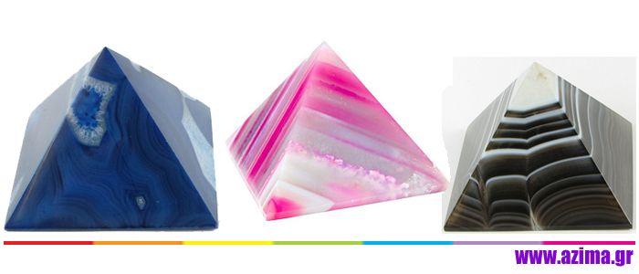 Πυραμίδες Κρυστάλλων και Ορυκτών και η ενέργεια τους