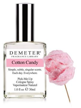 Shhhh.. we're posting early, but the Fragrance of the Day for May 25, 2012 WILL be Cotton Candy. 50% off with code 52668612 on May 25th only. http://www.demeterfragrance.com/704065/products/Cotton-Candy.html