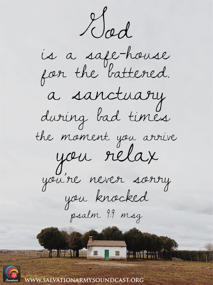 Image result for god is a safe house