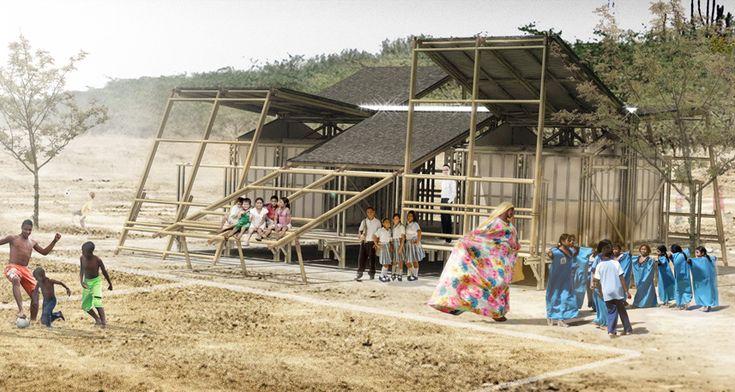 Escuela M3: una propuesta modular, flexible y sustentable para las zonas rurales de Colombia