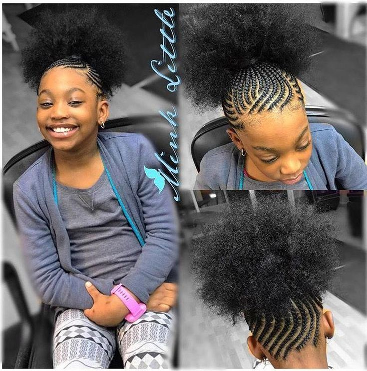 This Black Hairsty Coiffure Fillette Idee Coiffure Cheveux Crepus Modele Coiffure