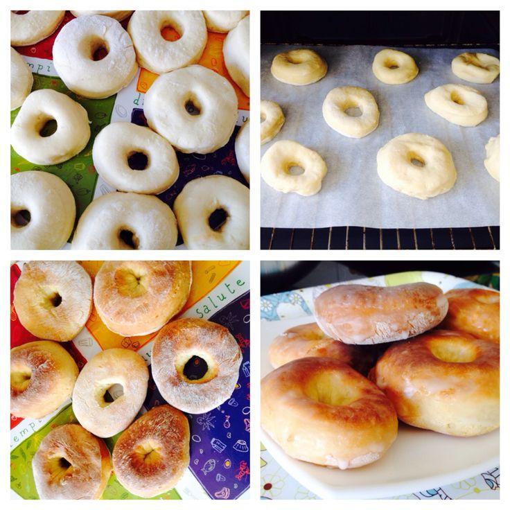 Cómo hacer Donuts caseros al horno - Recetín