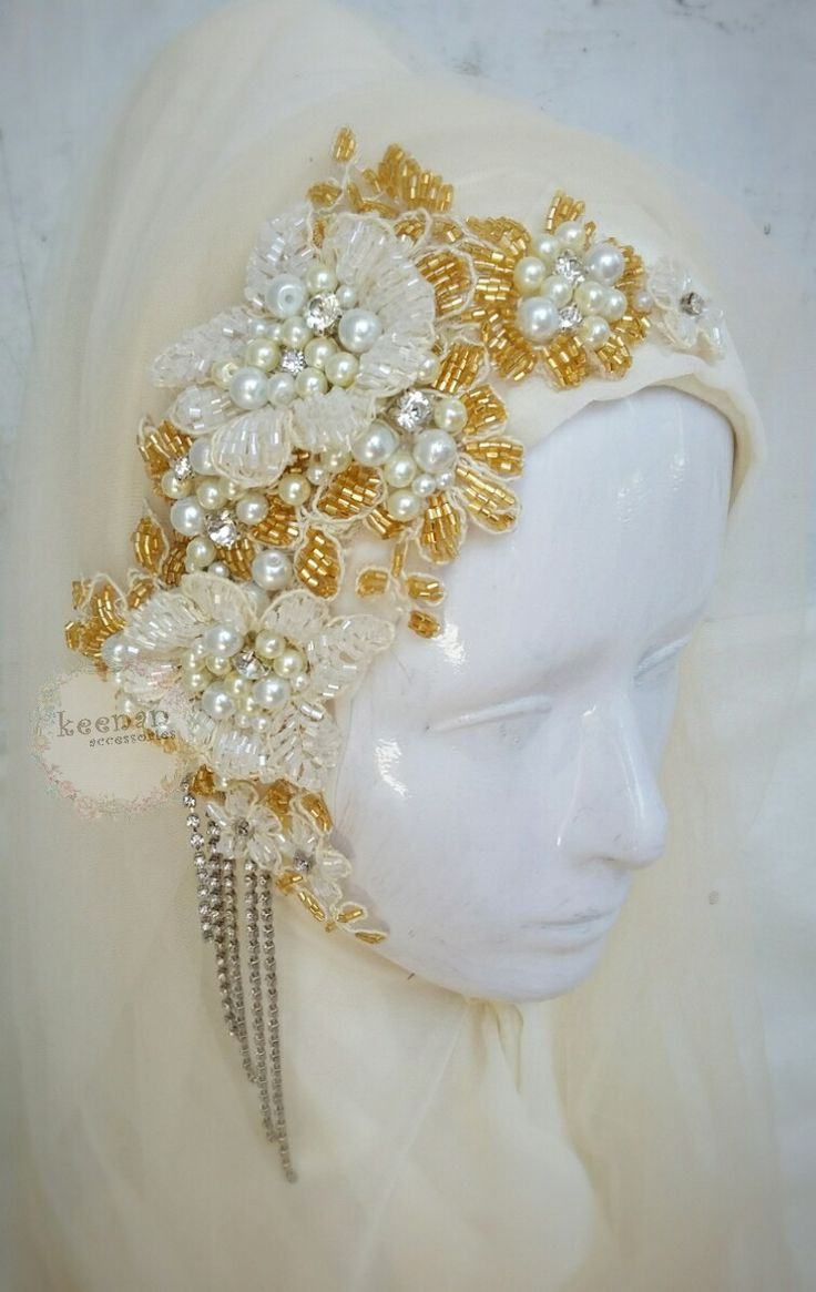 #headpiece #wedding