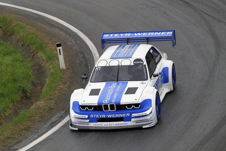 Team Edlinger BMW 320i with a 3.5 L IRL GM V8