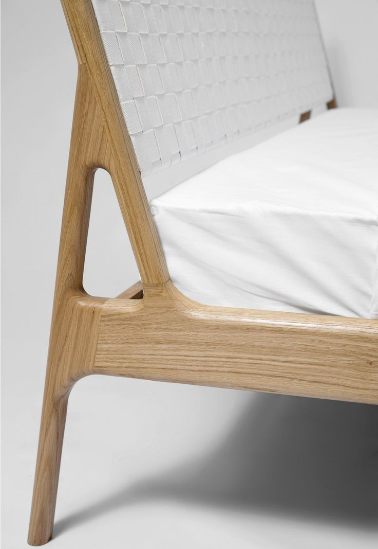 Oak single bed FAWN BED Fawn Collection by @gazzdafurniture  Salih Teskeredžic, Mustafa Cohadžic