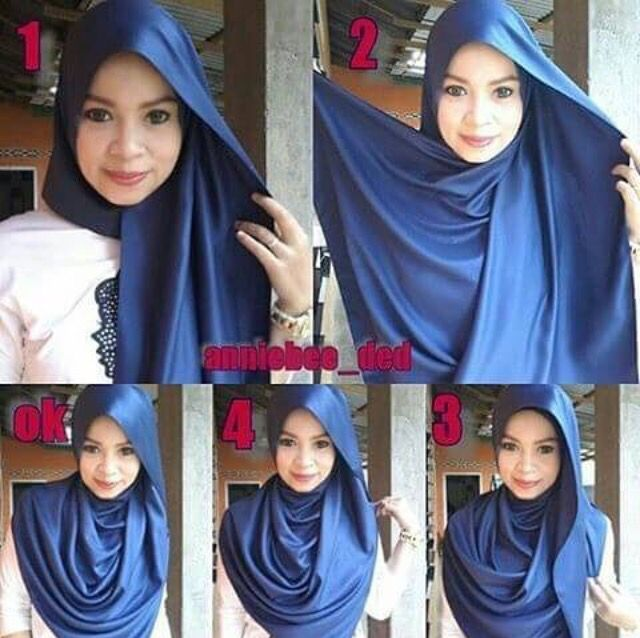 Easy peasy.  #hijabtutorial #stepbystep