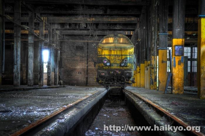 SNCB Train Graveyard.