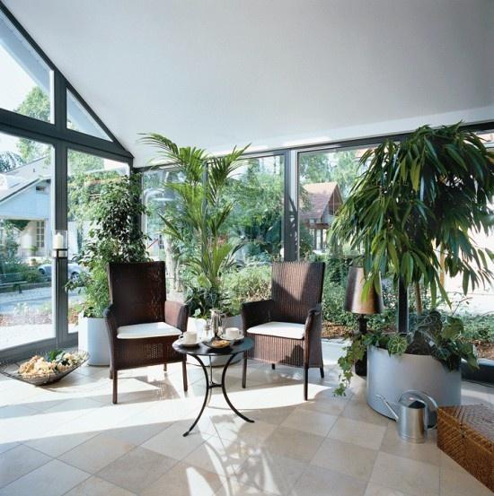 26 besten Wohnideen Wintergärten Bilder auf Pinterest - wintergarten als wohnzimmer