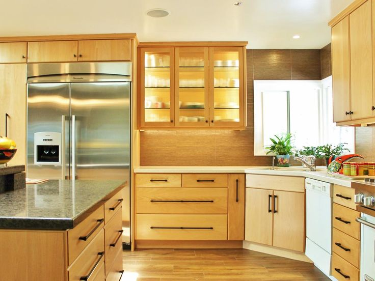 Look In Today S Designer Kitchens. Cabinetry Blends Materials, Colors And Finishes To Add Interest, photo - 2
