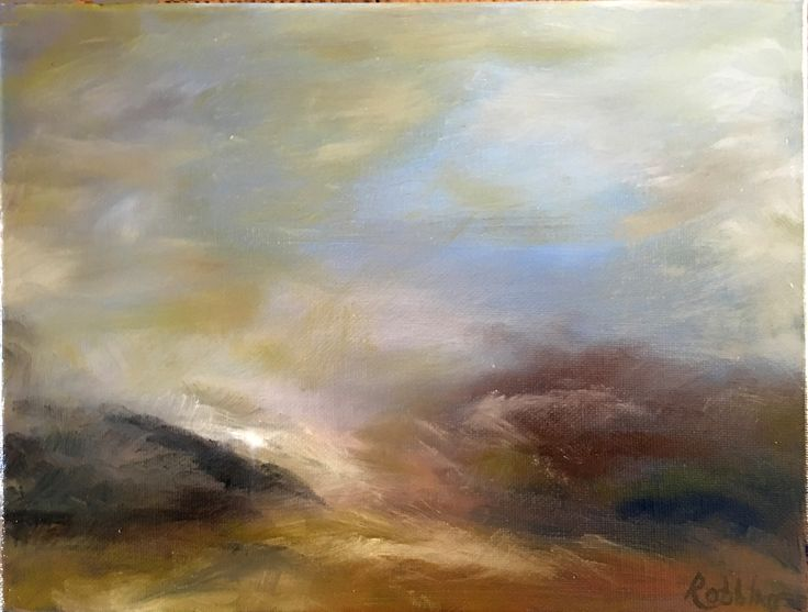After the storm – Oil on canvas