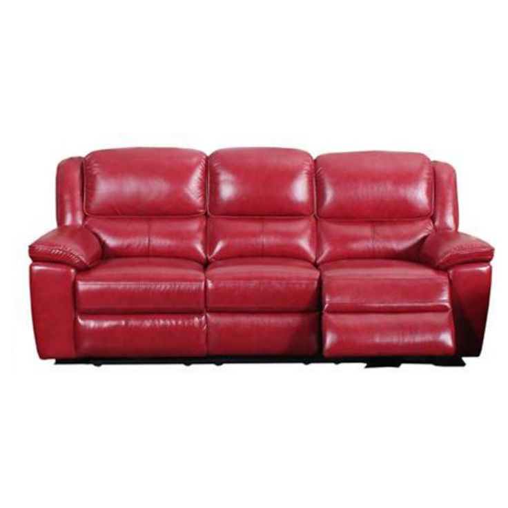 Barcalounger Laguna Power Sofa Contact Red - 39-3036-3503-11