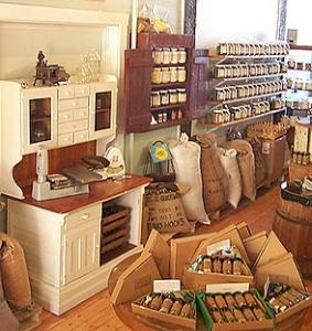 Savory Spice Shop...nice place to shop for spices, sauces, extracts and other cooking/baking ingredients.  helpful staff!