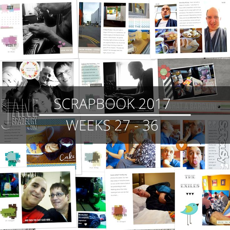My Scrapbook 2017 pages all up to date