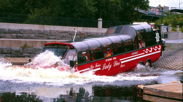 Lady Dive Amphibus: bilingual one hour city tours on both land and water. A…