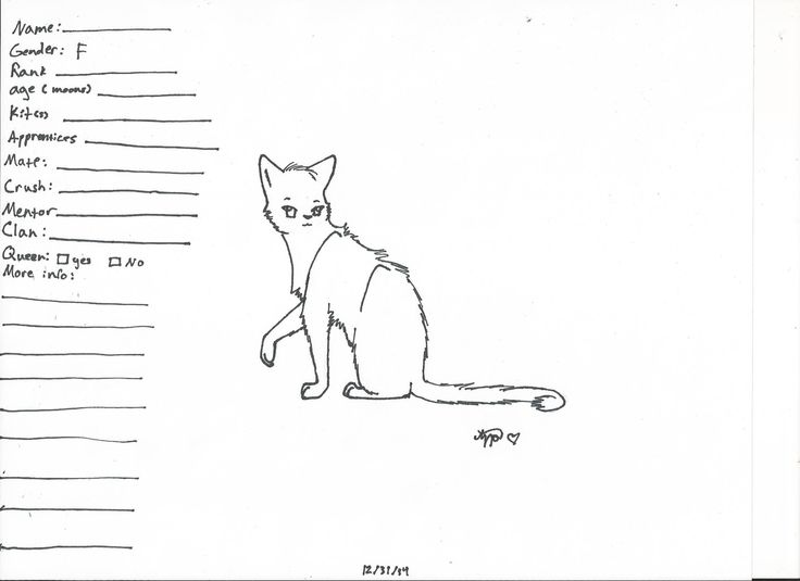 warrior cats coloring pages bluestar energy | 374 best images about warriors on Pinterest | Cats ...