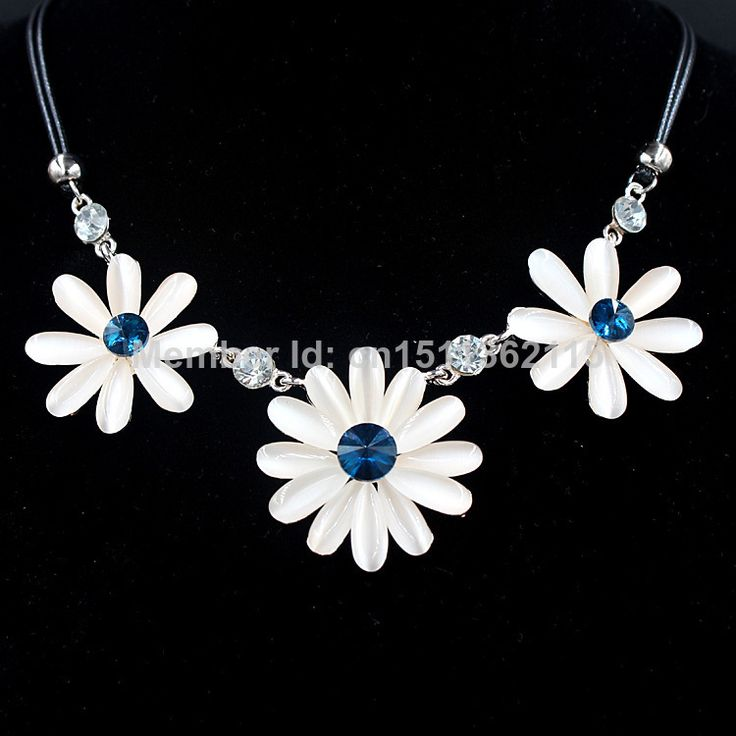 Cheap necklace america, Buy Quality necklace clasp directly from China necklace rack Suppliers: Free shipping 2014 hot selling fashion necklace cat eyes stones sunflower shaped statement collar necklace for women