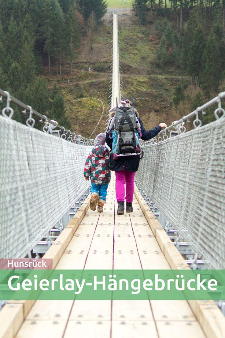 Die Geierlay-Hängeselibrücke zählt zu den Top Attraktionen im Hunsrück. Wir waren mit 2 Kleinkindern dort und fanden es gut ... wenn nur der Weg dorthin nicht wäre ...