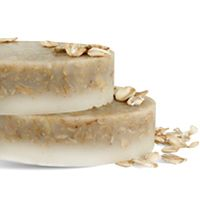DIY Soap Making Recipe - Oatmeal Scrubby Soap.  Click on image for recipe!!