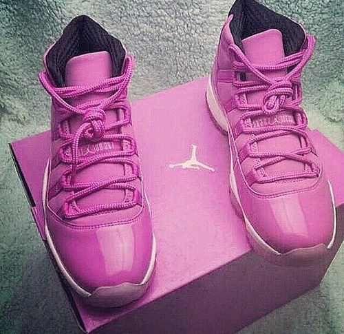 pink jordan shoes for men