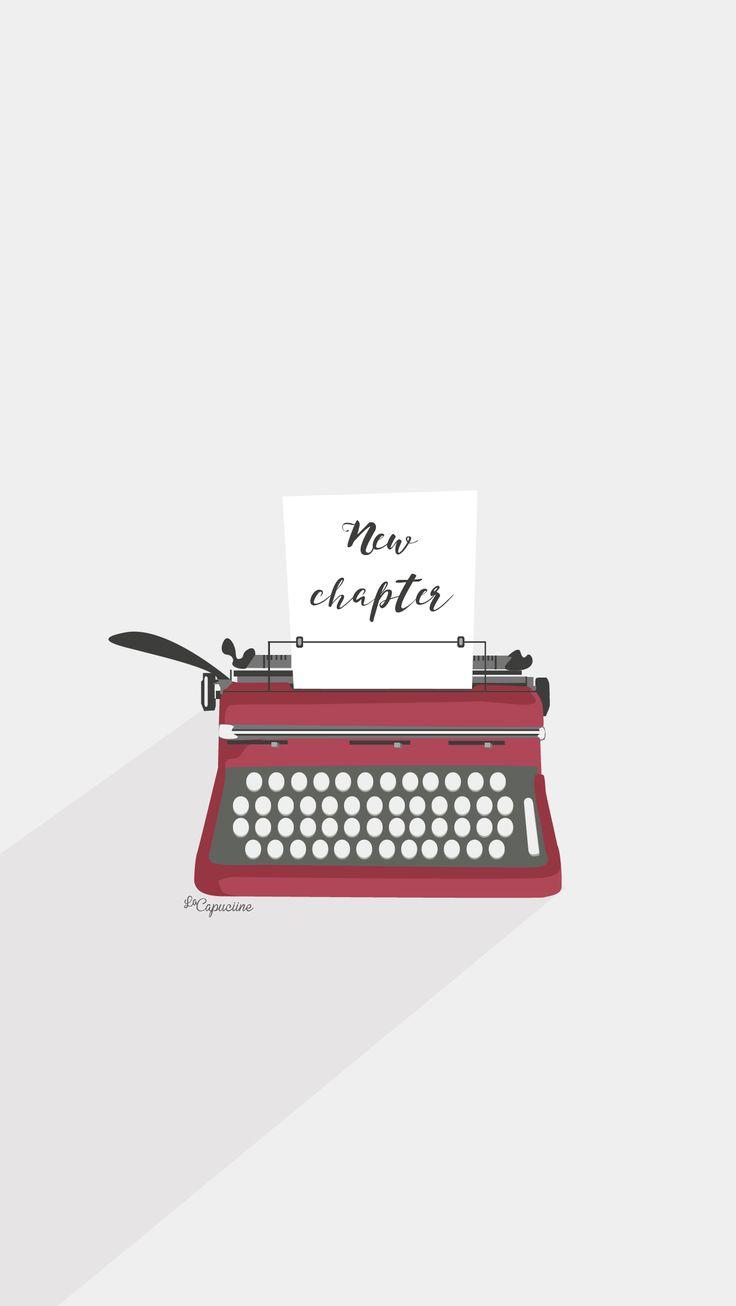 Fond d'écran Machine à écrire La Capuciine