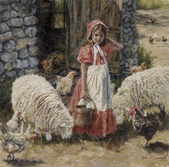 Hannah's Flock by Carla D'aguanno