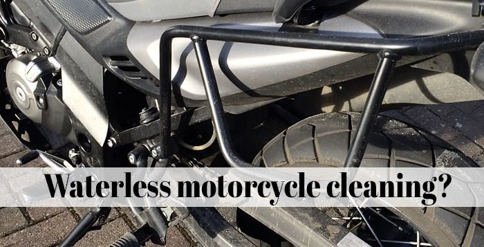 Vulcanet review | waterless motorcycle cleaner
