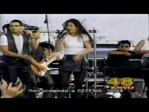 Selena ( Rare 1994 ) - Amor prohibido + Bidi bidi bom bom ( LIVE - EN VIVO ) A.J.B. - YouTube