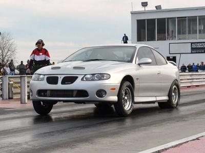 2005 GTO Drag Race car