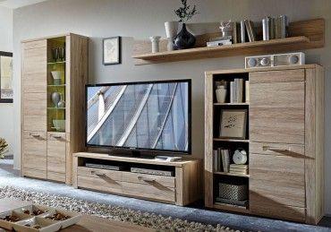 Provence Wohnkombination TV-Kombination Wohnwand Wohnzimmer-Set 001