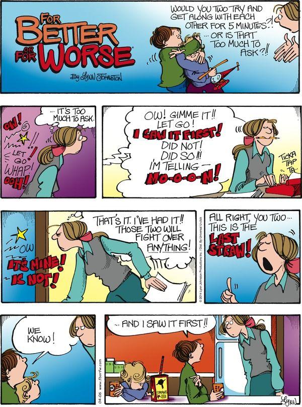 Comic strip worse