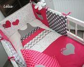 Tour de lit et gigoteuse turbulette 6/24 mois pour bébé : Linge de lit enfants par chez-lelie