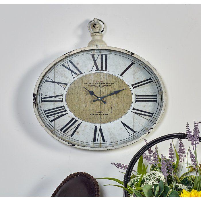 Saint Denis Metal Wall Clock In 2020 Wall Clock Metal Wall Clock Clock