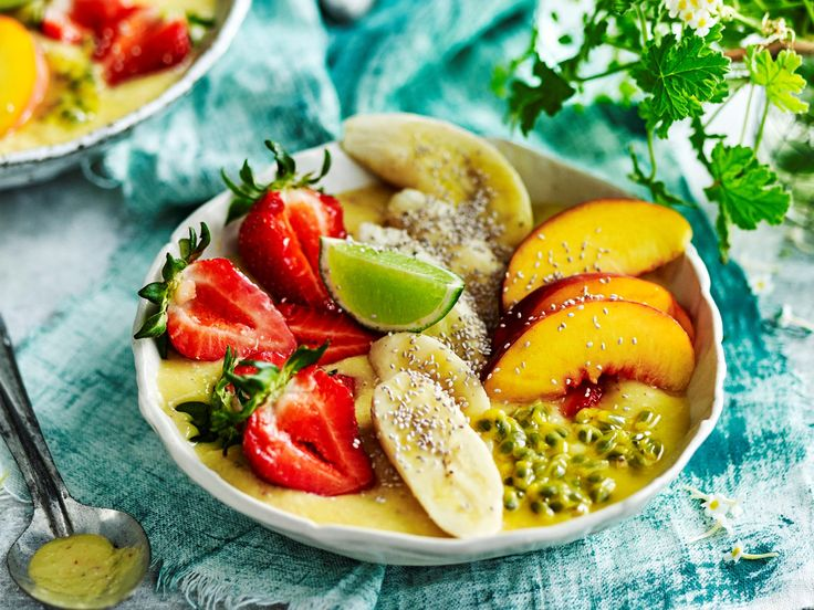"This tropical smoothie bowl recipe from The Australian Women's Weekly's ['Juices and Smoothies' cookbook](https://www.magshop.com.au/the-australian-womens-weekly-juices-smoothies|target=""_blank"") is over the top, just like the flamboyant Brazilian performer it was named after, packed full of fresh summer fruits and sweet hydrating coconut."