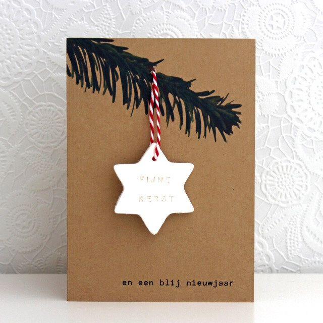 Fijne Kerst! Maak je eigen kaart