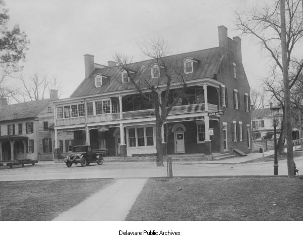 Brick Hotel Georgetown Delaware 1926