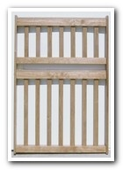 Extra tall pet gates for when standard pet gates are too short. Works for large dogs or cats that can jump high.