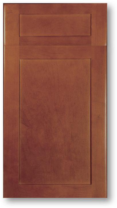 Manufacturer Single Piece Mdf Shaker Kitchen Cabinet