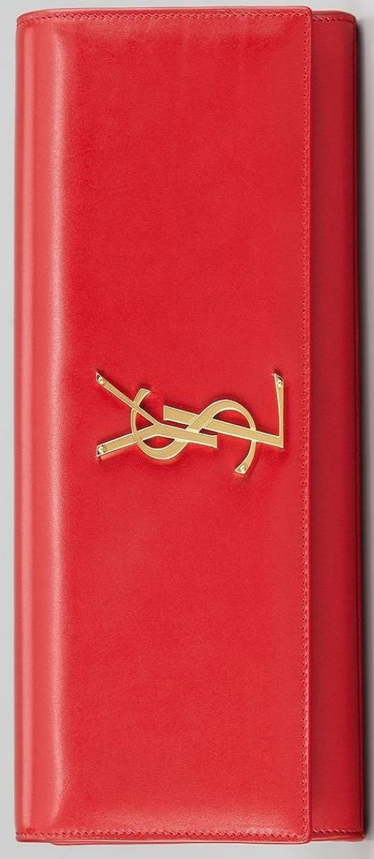 Classic red clutch YSL ♥✤ | Keep the Smiling | BeStayBeautiful