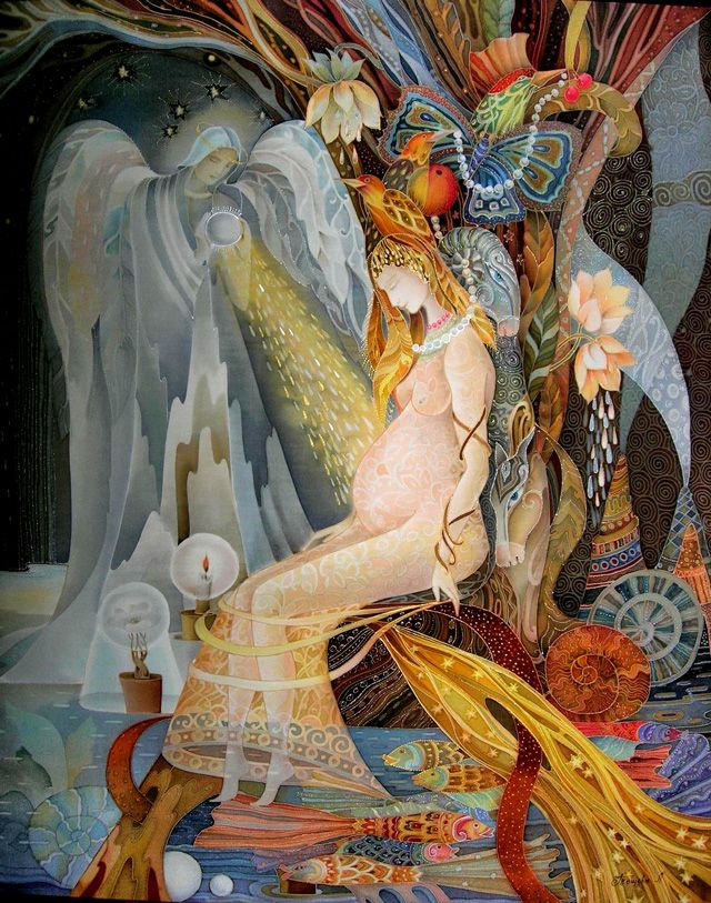 Ljubov Toscheba (batik):