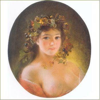 Портрет неизвестной. 1900-е. Третьяковская галерея.