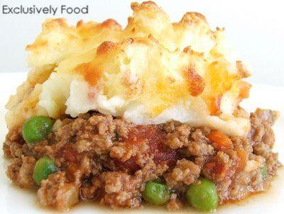 Exclusively Food: Shepherd's Pie Recipe
