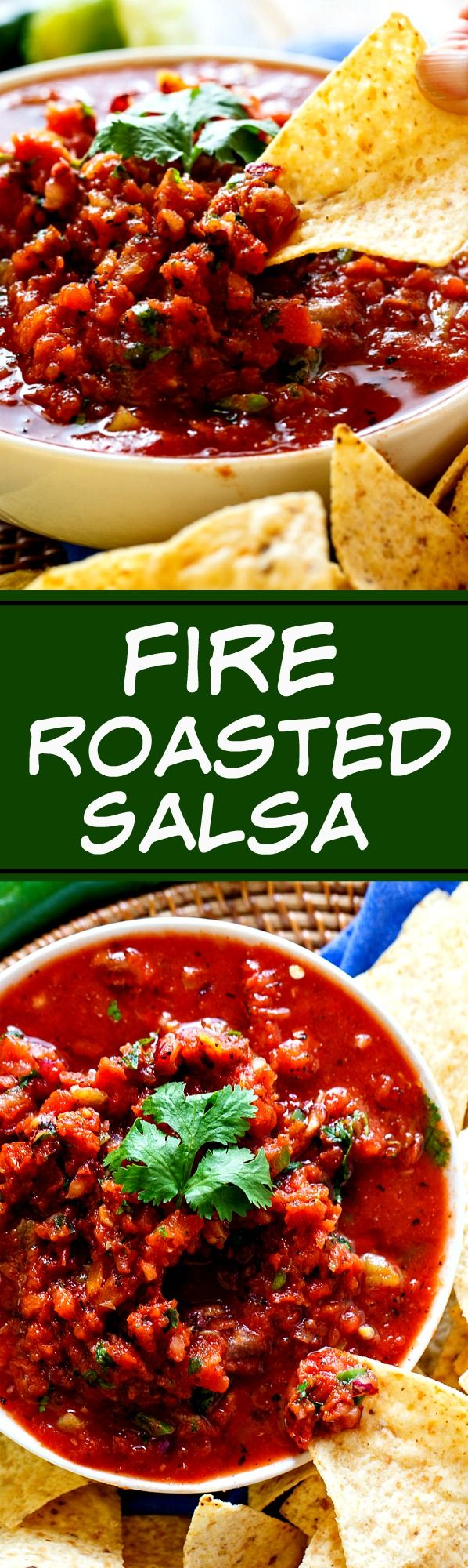 Fire-Roasted Salsa- make restaurant-style salsa in just minutes!